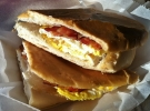 bacon, egg and cheese