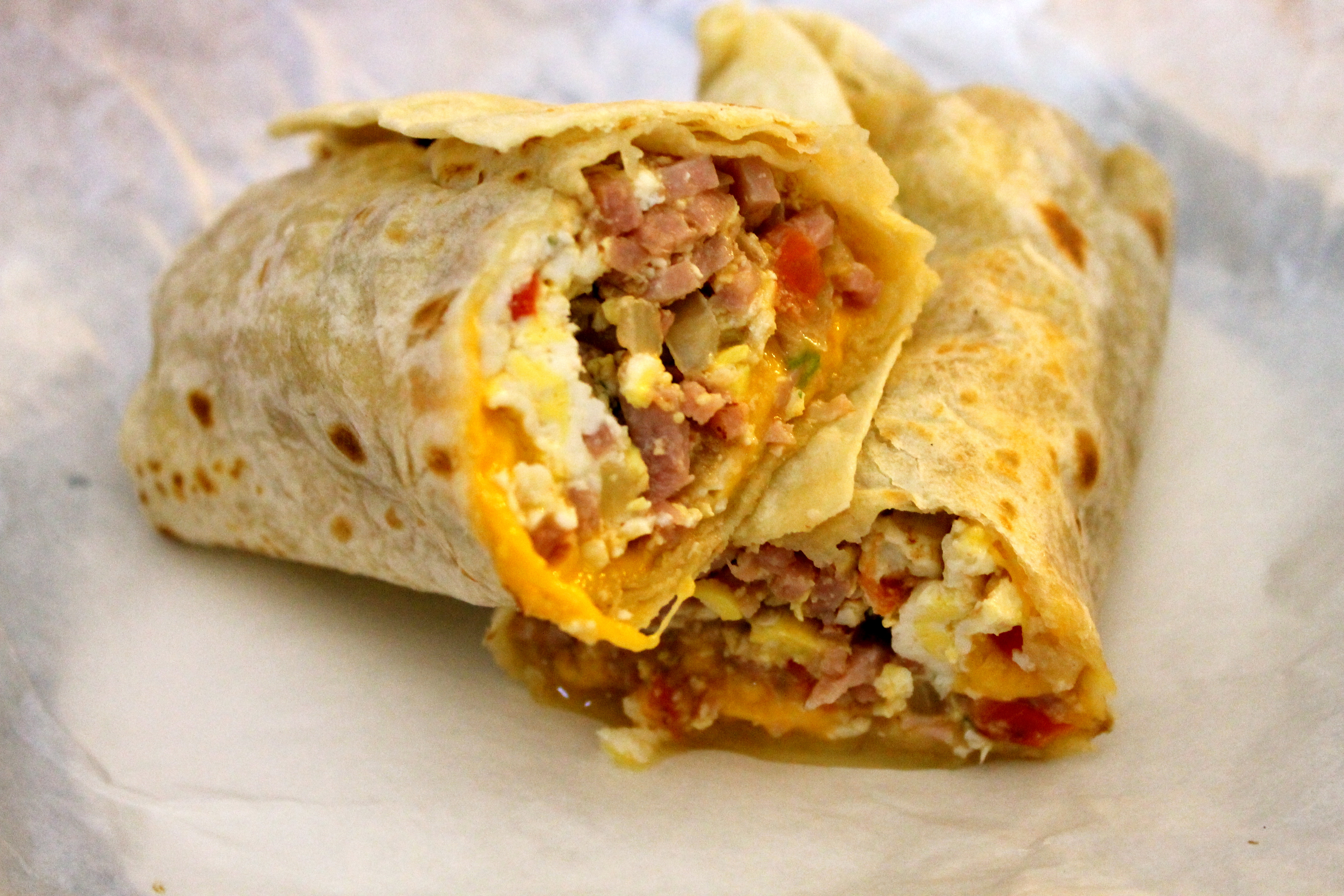 breakfast buritto