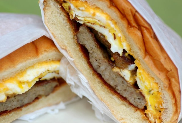 Sausage Egg And Cheese Sandwich Recipe Go home thomas' egg and sausage ...